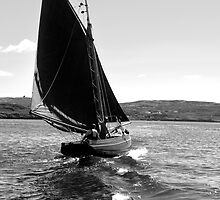 Traditional Sail by Orla Flanagan