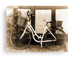 Vintage Classical  Bicycle Canvas Print