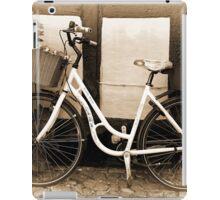 Vintage Classical  Bicycle iPad Case/Skin
