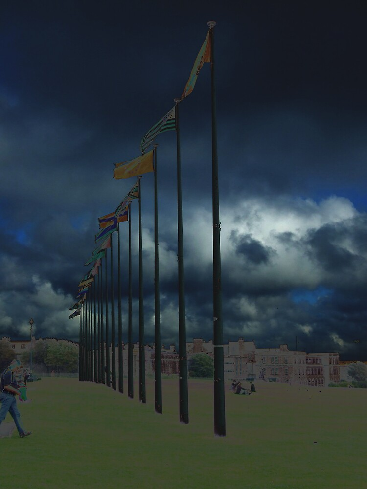 flag poles2 by matjenkins