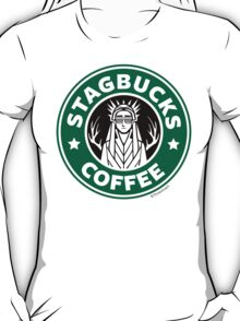 Elves at Stagbucks T-Shirt