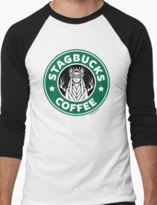 Elves at Stagbucks Men's Baseball ¾ T-Shirt