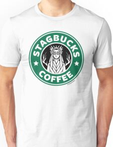 Elves at Stagbucks Unisex T-Shirt