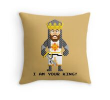 King Arthur - Monty Python and the Holy Pixel Throw Pillow