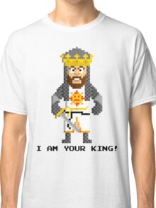 King Arthur - Monty Python and the Holy Pixel Classic T-Shirt