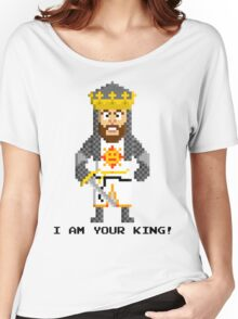 King Arthur - Monty Python and the Holy Pixel Women's Relaxed Fit T-Shirt