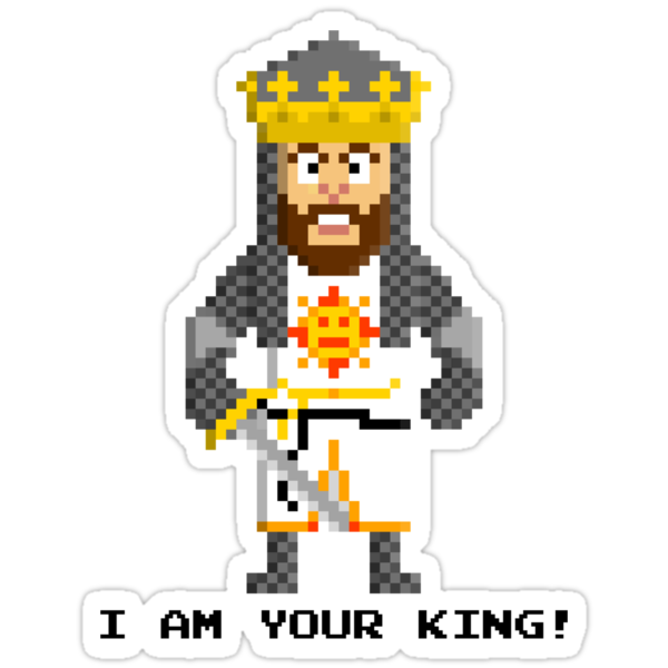 King Arthur - Monty Python and the Holy Pixel by Gwendal