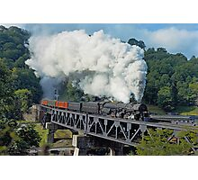 Norfolk & Western #1218 - Coopers, WV Photographic Print