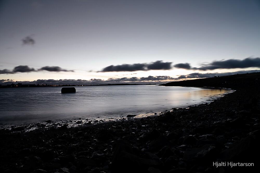 The beach by Hjalti Hjartarson