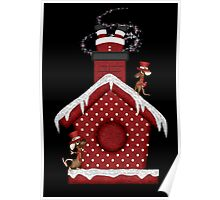 Santa`s Stuck in the Chimney Poster