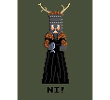 Knight of Ni - Monty Python and the Holy Pixel Photographic Print