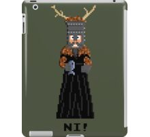 Knight of Ni - Monty Python and the Holy Pixel iPad Case/Skin