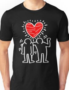 Keith Haring Care Unisex T-Shirt