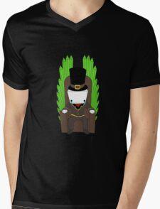 Hatty Hattington Mens V-Neck T-Shirt