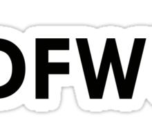 IDFWU Sticker