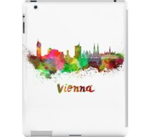 Vienna skyline in watercolor iPad Case/Skin