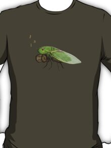Cicada Playing a Squeezebox T-Shirt