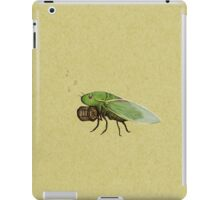 Cicada Playing a Squeezebox iPad Case/Skin