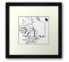 lady fate Framed Print