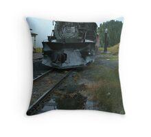 Locomotive 488 at Cumbres Throw Pillow