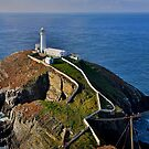 South Stack Lighthouse by Peter Doré
