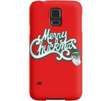 Merry Chuckmas by Tai's Tees Samsung Galaxy Case/Skin