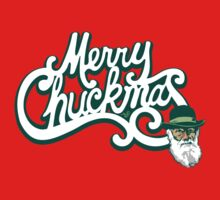 Merry Chuckmas by Tai's Tees Kids Tee