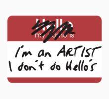 I'm an ARTIST Kids Tee