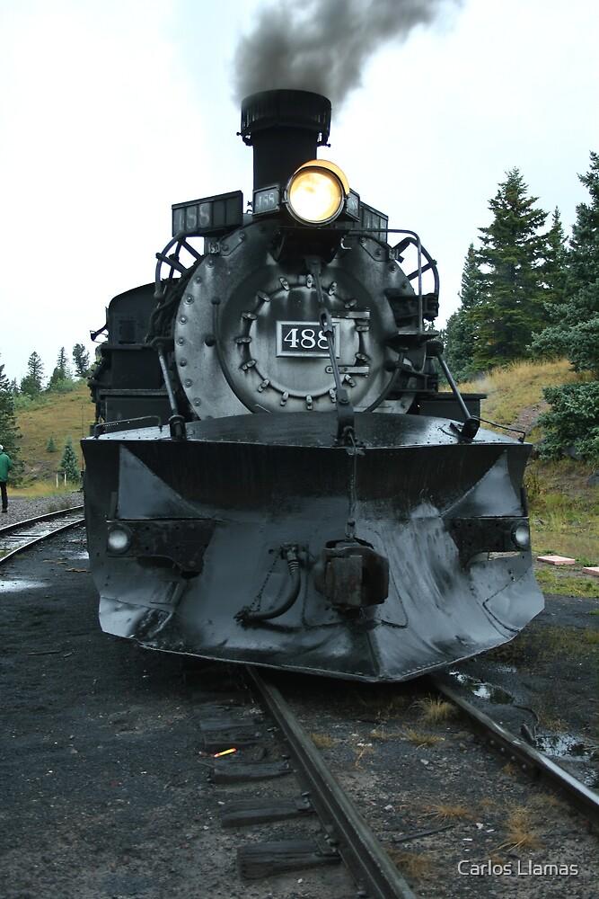 Locomotive 488 at Cumbres by Carlos Llamas