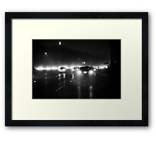 LA Freeway Framed Print