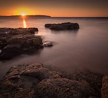 Sunset over Donegal by Nigel R Bell