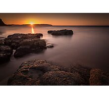 Sunset over Donegal Photographic Print