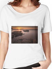 Sunset over Donegal Women's Relaxed Fit T-Shirt