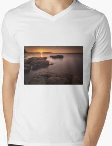 Sunset over Donegal Mens V-Neck T-Shirt