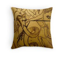 Inner Daemon. Throw Pillow
