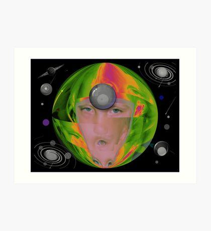 Eyes of The Universe Art Print