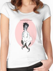 Serie 3/4. Nº 13 Women's Fitted Scoop T-Shirt
