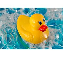 Bubble Duck Photographic Print