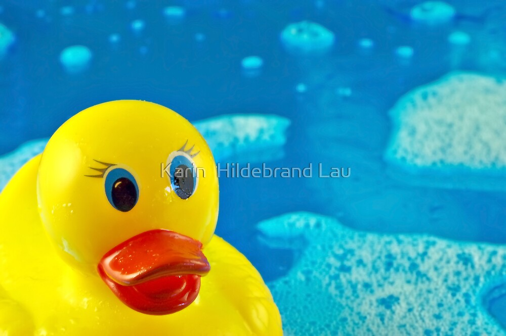 Bubble Duck by Karin  Hildebrand Lau