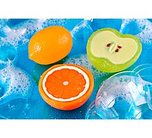 Fruit Soaps Photographic Print