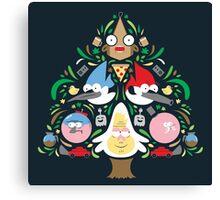 Regular Family Tree Canvas Print