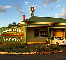 Back of Bourke Hotel by Darren Stones