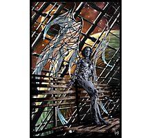 Robot Angel Painting 005 Photographic Print
