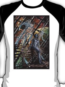 Robot Angel Painting 005 T-Shirt