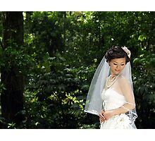 Bride Photographic Print