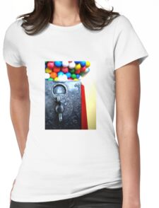 Penny Slots Womens Fitted T-Shirt