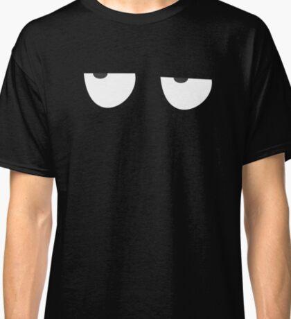 T shirt Eyes Boring Funny Classic T-Shirt
