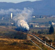 N&W #611 Eastbound - Rural Retreat, VA by TrainmasterBob