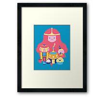 Candy Kingdom Framed Print