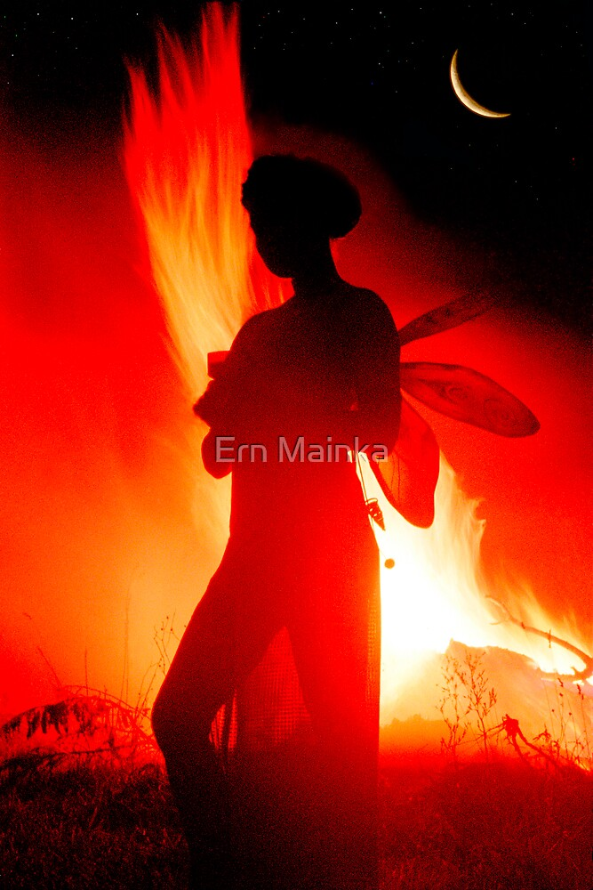 Fire Fae I by Ern Mainka